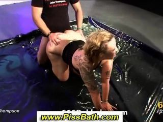 Wassersport goldene Dusche Fetisch