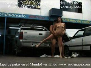 Argentinien Schlampe braucht einige Reparaturen