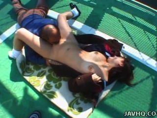 japanisch jugendlich geleckt und gefickt outdoor unzensiert