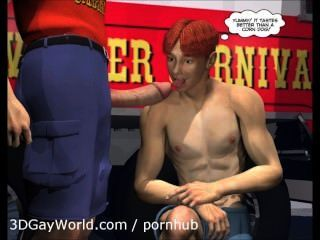 charlie am Karneval: 3d Homosexuell Cartoon anime Hentai Comics