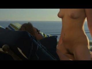 Sommer der Liebe auf dem Strand in der Kunst Sex