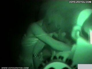 dunkle Nacht Infrarot-Kamera Auto Sex