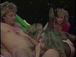 seltsam erotische Vintage-Orgie