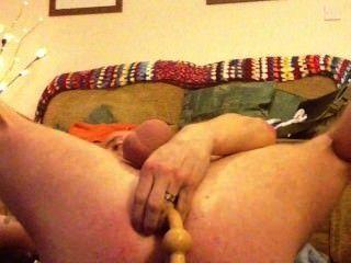 anal mit Lieblingsspielzeug Stretching
