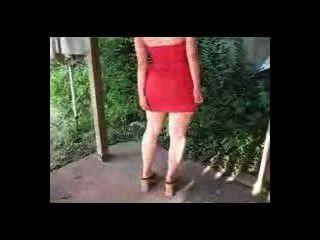 mal malloy roten Kleid 2