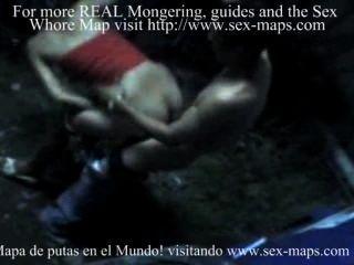 nicaraguaner Prostituierte mit Touristen bei der Arbeit