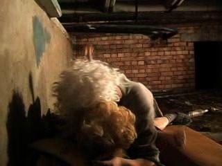 russische Obdachlose
