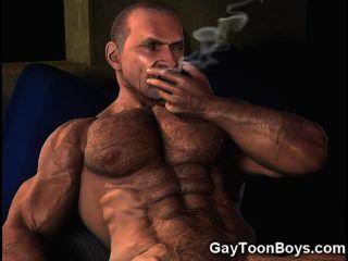 3d großen Schwanz Homosexuell Fantasie!
