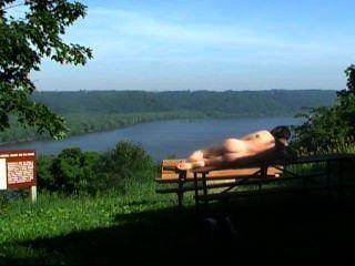 Mark Heffron - nackt Fluss vista