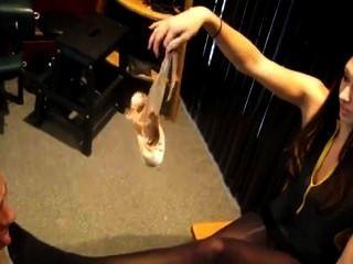 Ballett fußanbetung