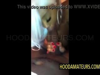 kakey Saugen Hahn auf dem Handy Video