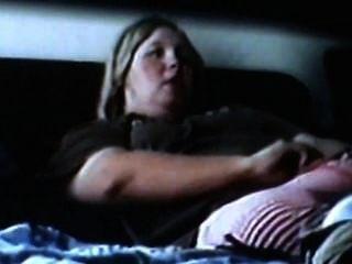 bbw Mutter masturbiert und intensive Orgasmen hat