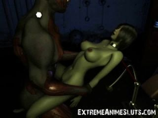 3d schockierende Scifi Sex!