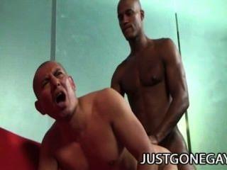 Antonio Moreno und billy lang - ein interracial anal Begegnung mit 2 dilfs