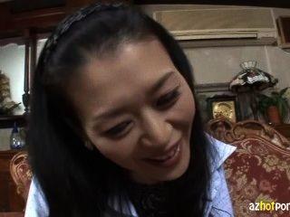 im Alter von fünfzig japanische reife Frau 1