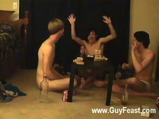 Homosexuell Sex Spur und William bekommen zusammen mit ihren frischen Freund Austin für