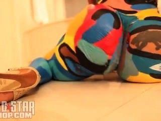 cubana Lust Körper malen tanzen Travis Porter einzigen ayy Damen