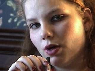 Mädchen rauchen Dirty Talk
