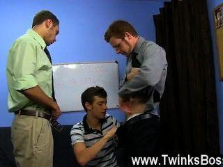 Homosexuell Film brian Anleihen und marc Peron brauchen eine neue pa im Büro und ryan