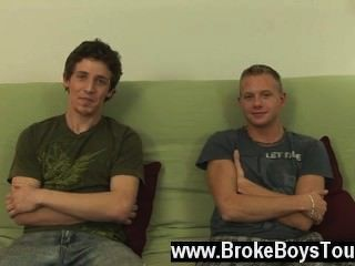 Homosexuell Film im Studio heute haben wir preston und Leon. sie sind hier