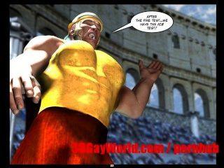 Homosexuell Olympischen Spiele lustige 3d Homosexuell Cartoon anime comics alten xxx Witz 3dgay