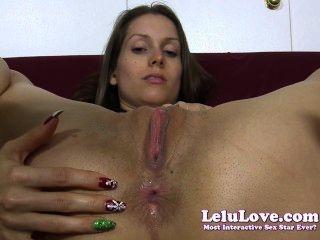 Lelu Liebe-Leggings Bikini Arschloch Verzieh analplug