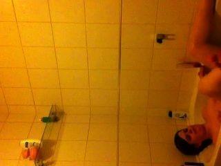 bf filmt mich im Bad
