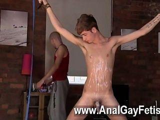 erstaunliche Szene Homosexuell Twink Mann jacob daniels ist seine letzte Mahlzeit, angeseilt
