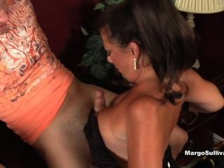 Margo sullivan geben Wahnsinns-Blowjob