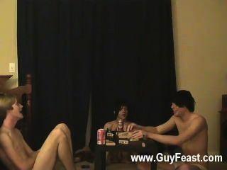hot Homosexuell Szene Spur und William bekommen zusammen mit ihren frischen Kumpel Austin