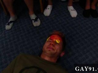 Homosexuell Sex niemand will ein Gesicht insgesamt Bälle, vor allem, wenn es
