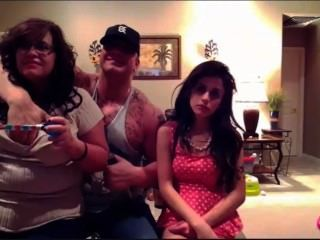 Marisol, rebecca und Ryback auf PS4 Titten