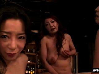 hot japanische Lesben Dreier