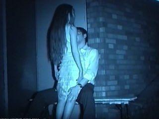 Infrarot-Voyeur Nacht im Freien Sex