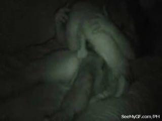 heiße Freundin in cum nach dem Sex bedeckt