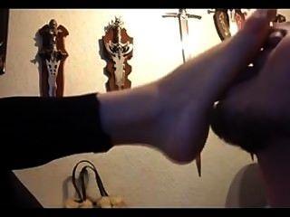Gothic Freundin Fuß Liebe