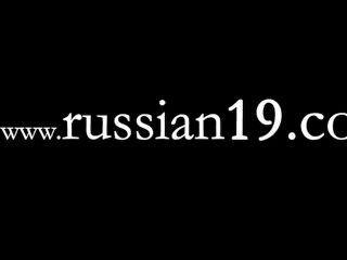 feine Live-Show der schönen Russin