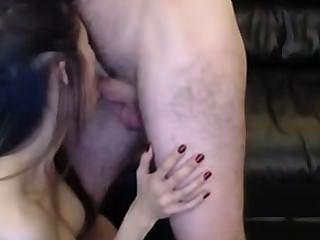 heißes Mädchen auf Webcam