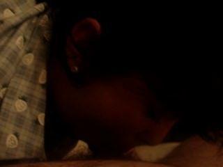Maribel mexikanische Hündin meinen Schwanz saugen