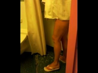 Spionage meine Frau in der Dusche