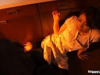 Japanische Mädchen angegriffen heiße Frau an school.avi