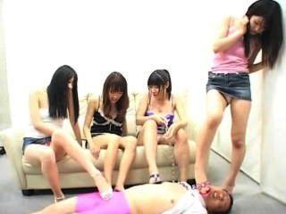 japanisch Demütigung eines dummen Mannes