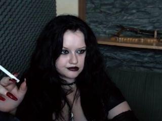 Webcam goth