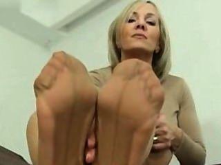 reifen Nylon Fuß necken