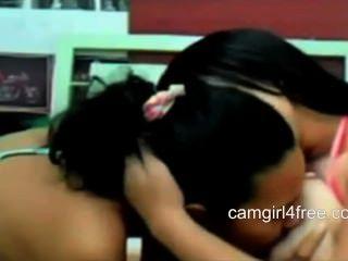 Lesben mit großen Titten auf Webcam bbw