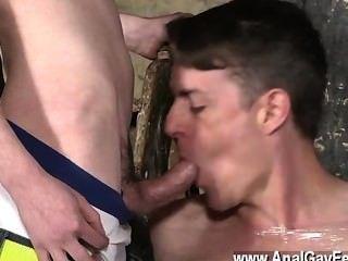 Homosexuell Jungs geilen Bolzen sean McKenzie ist bereits gebunden, aber matt hat eine