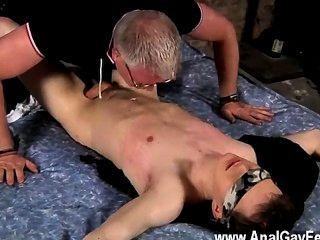 Homosexuell Porno will der Master ein cum