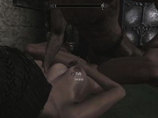 Skyrim - Sex mit Serana